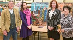 Coláiste An Chreagáin Exhibit in Local History Conference