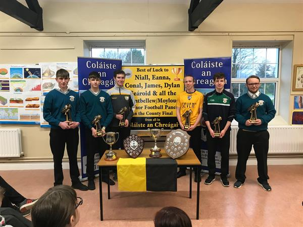 Presentation to Mountbellew Minor Champions