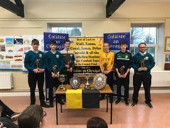 Presentation to Mountbellew Minor Champions