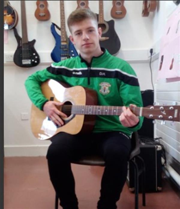 Good Luck Dylan in the All-Ireland No Name Club Talent Final