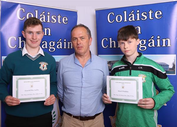 Coláiste an Chreagáin Gaeltacht Scholarship Presentations