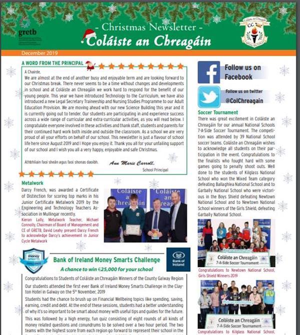 Christmas Newsletter 2019
