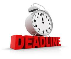 Deadline First Year Applications