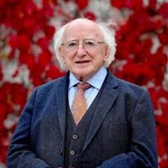 President Higgins records message of hope and thanks for students in post-primary education