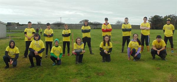 Transition Year 200km Welly Walk for the Irish Cancer Society