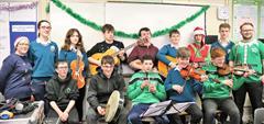 Coláiste an Chreagáin Music Club Christmas Preformance